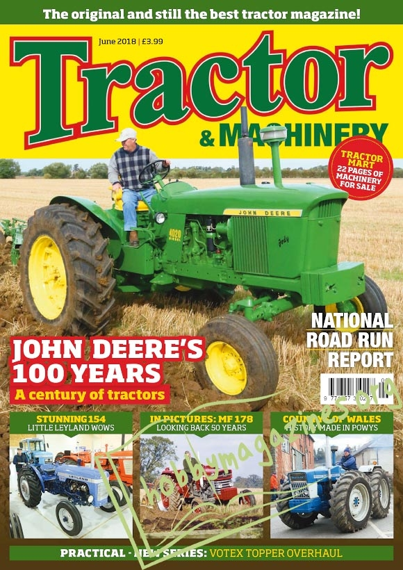 Tractor & Machinery – June 2018