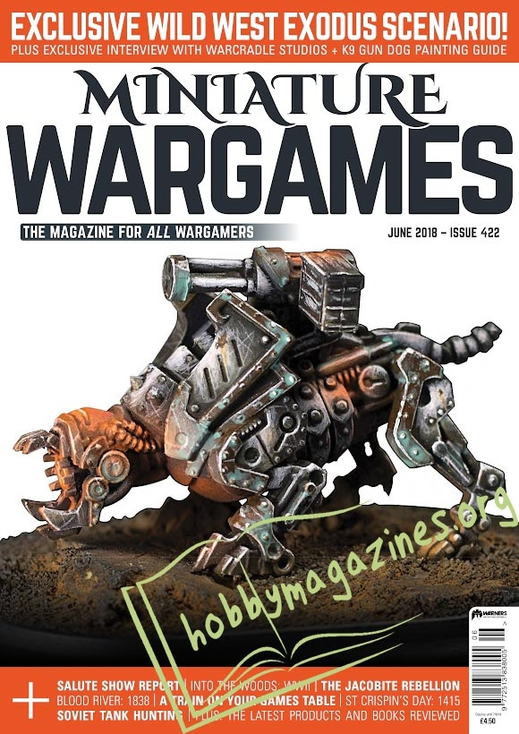 Miniature Wargames - June 2018