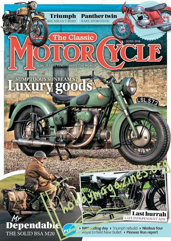 The Classic MotorCycle – June 2018
