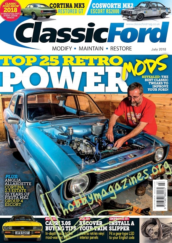Classic Ford – July 2018