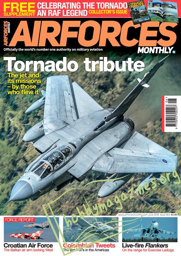 Air Forces Monthly -  June 2018