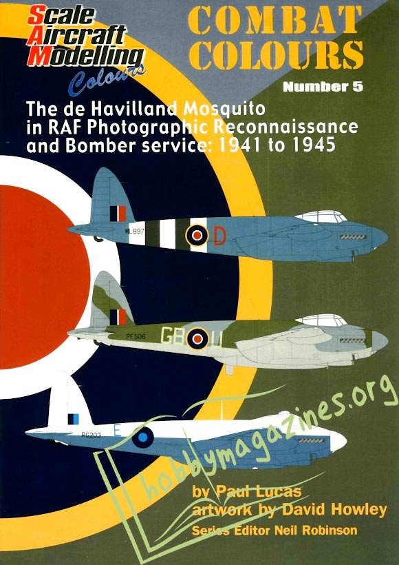Combat Colours 5 - Mosquito in RAF reconnaissance and bomber service 1941-1945