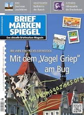 Briefmarken Spiegel 2018-06