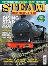 Steam Railway May 25-June 21, 2018