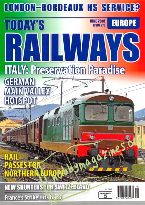 Todays Railways Europe - June 2018