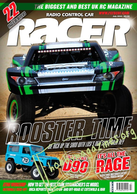 Radio Control Car Racer - July 2018