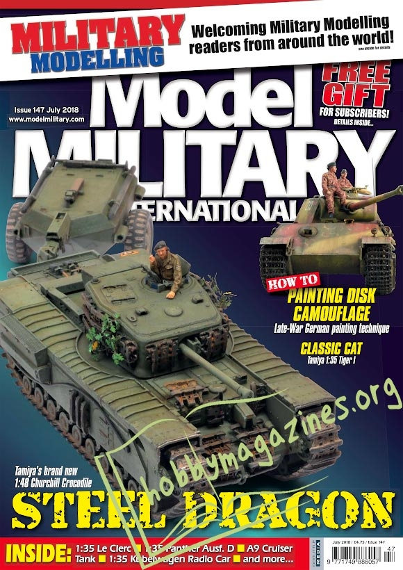 Model Military International 147 - July 2018