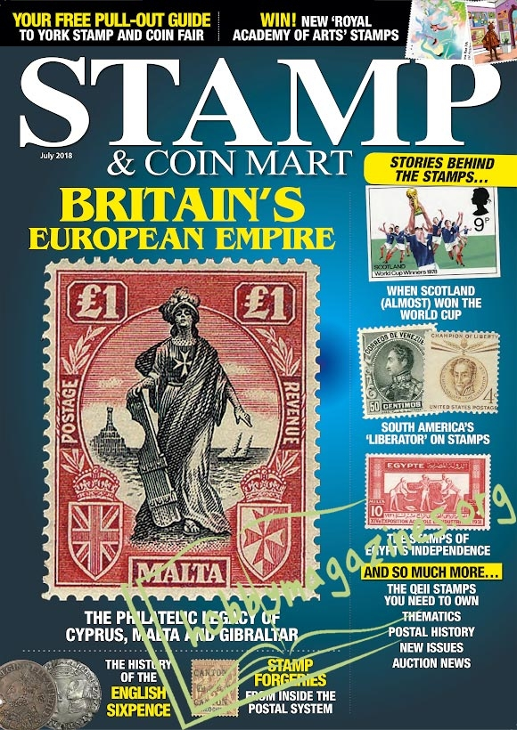 Stamp & Coin Mart – July 2018