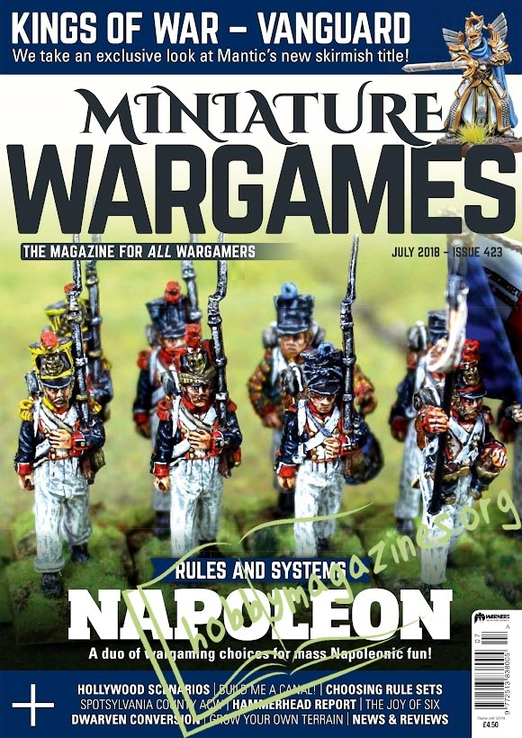Miniature Wargames – July 2018