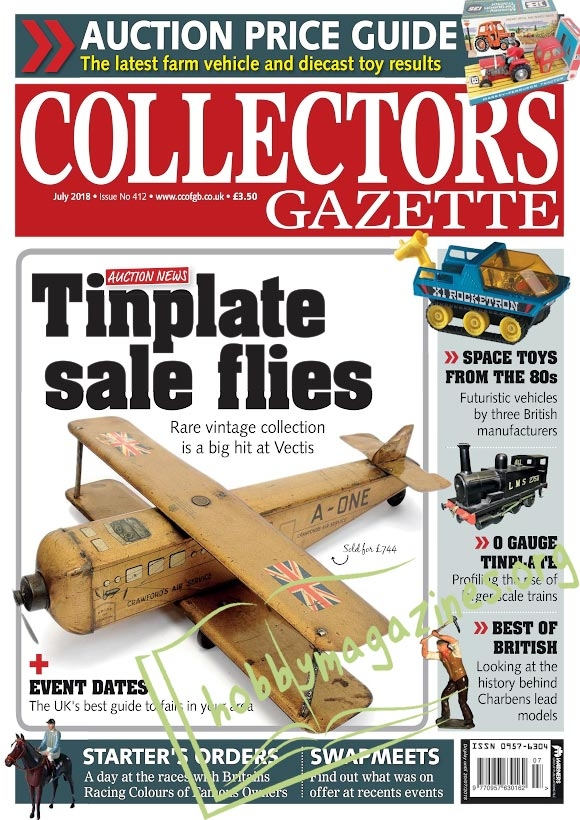 Collectors Gazette – July 2018