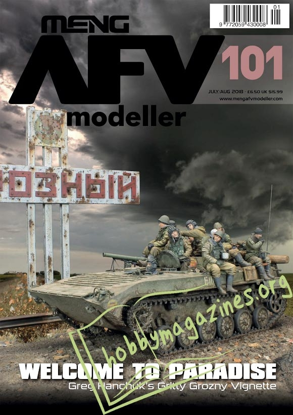 AFV Modeller 101 – July/August 2018