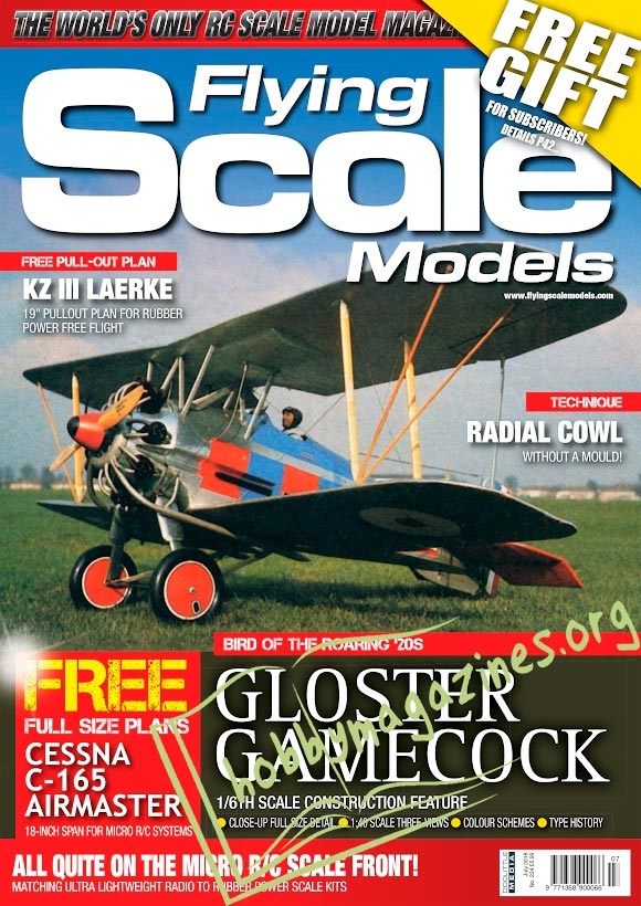 Flying Scale Models – July 2018
