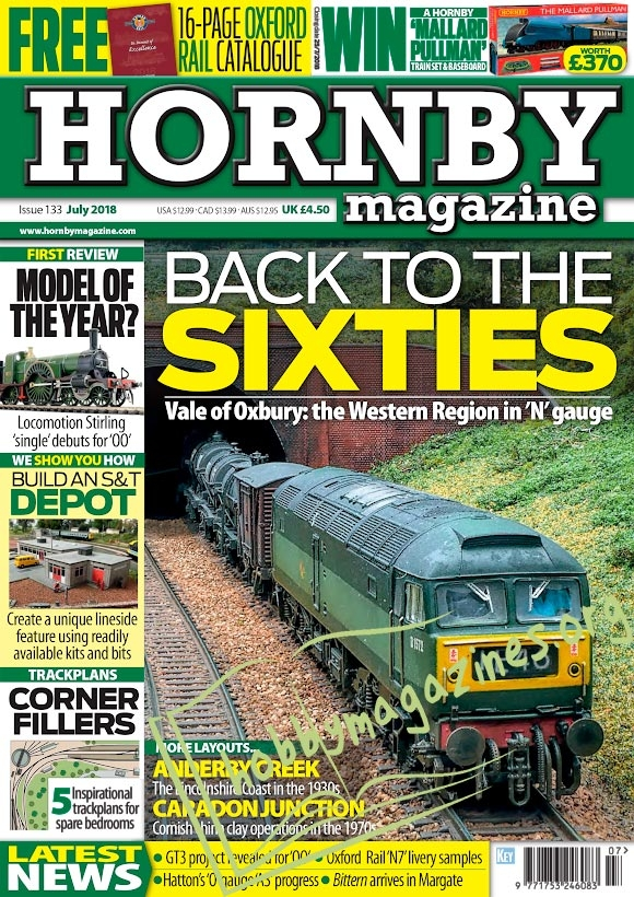 Hornby Magazine – July 2018