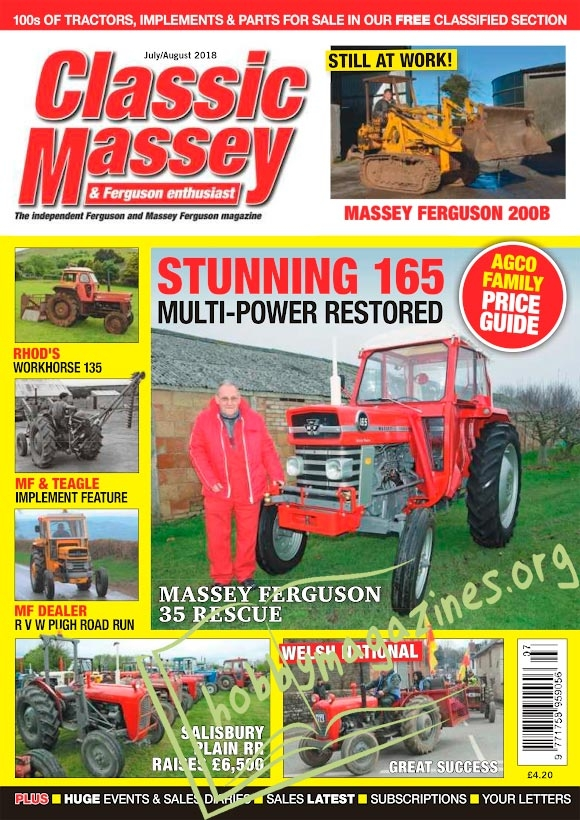 Classic Massey – July/August 2018