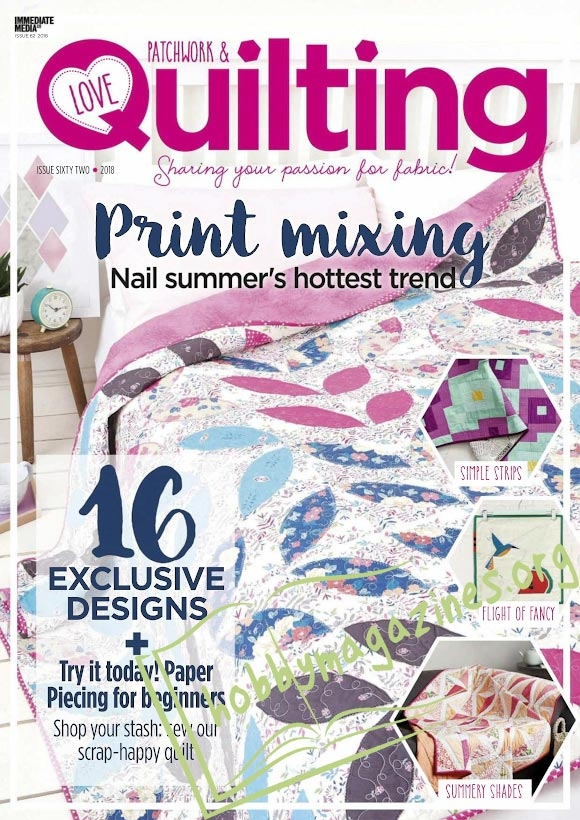 Love Patchwork & Quilting No.62, 2018