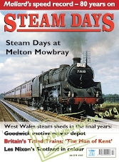 Steam Days – July 2018