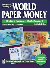Standard catalog of world paper money Modern Issues 1961 - Present (2018)