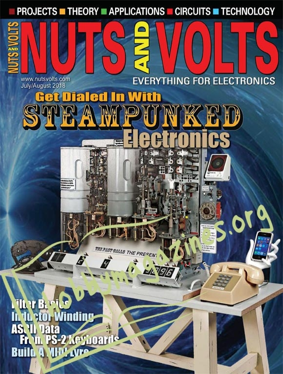 Nuts & Volts - July/August 2018