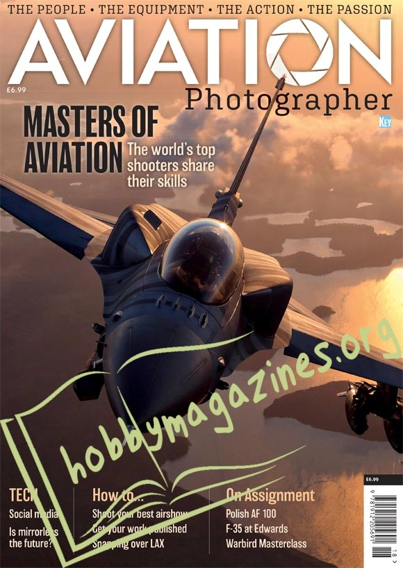 Aviation Photographer Issue 01, 2018