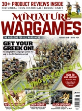 Miniature Wargames - August 2018