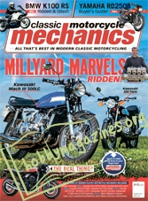 Classic Motorcycle Mechanics – August 2018