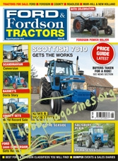 Ford & Fordson Tractors - August/September 2018
