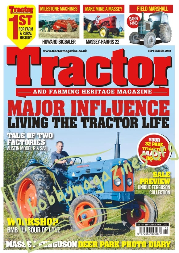 Tractor & Farming Heritage Magazine – September 2018