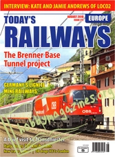 Today's Railways Europe - August 2018