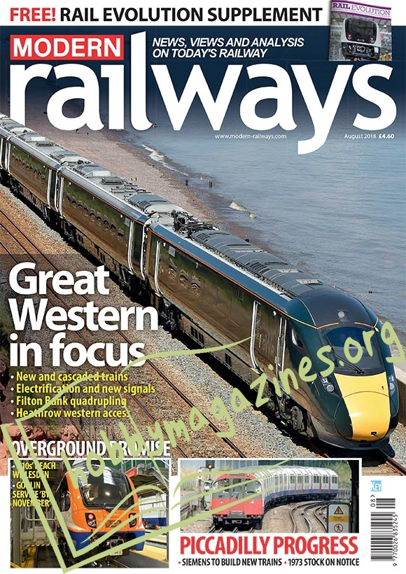 Modern Railways - August 2018