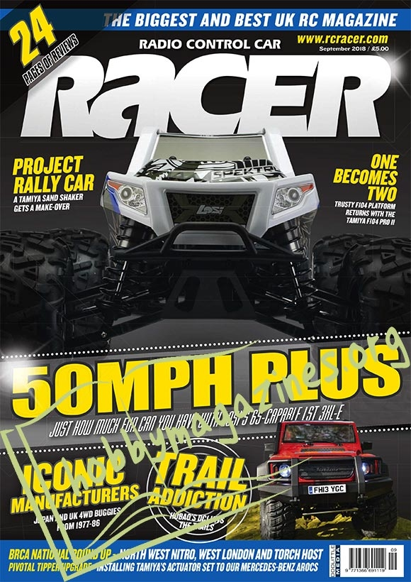 Radio Control Car Racer – September 2018