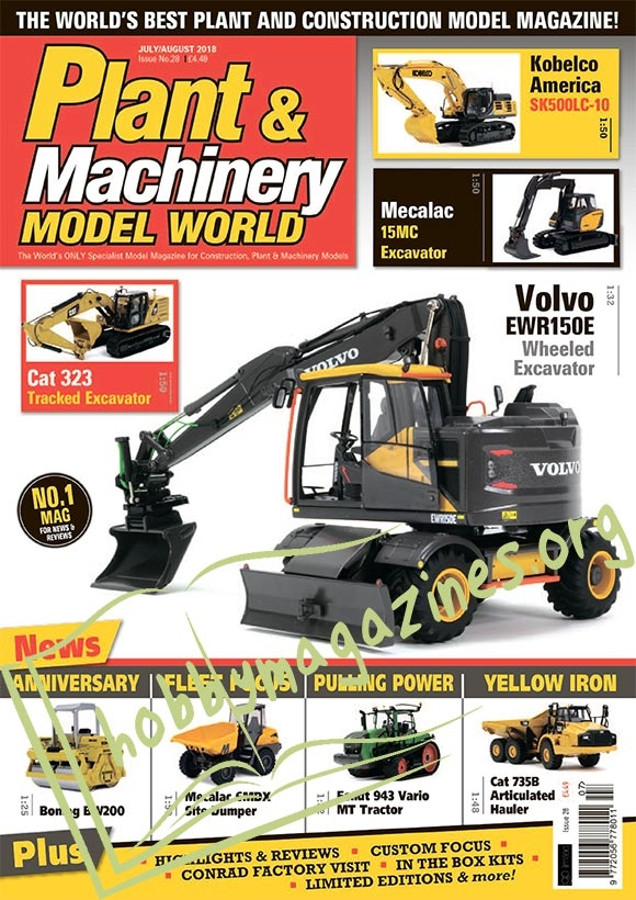 Plant & Machinery Model World – July/August 2018