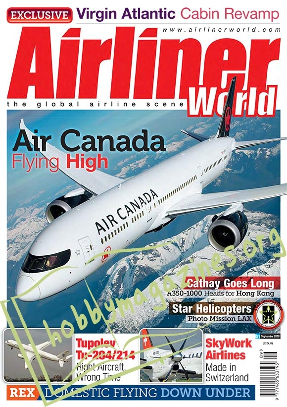 Airliner World – September 2018