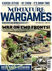Miniature Wargames – September 2018