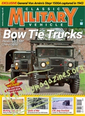 Classic Military Vehicle – September 2018