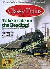 Classic Trains – August 2018