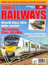 Today's Railways UK - September 2018