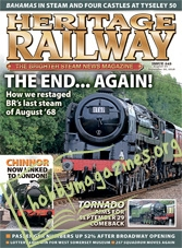 Heritage Railway 245 August 24-September 20,2018