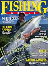 Fishing World - August 2018