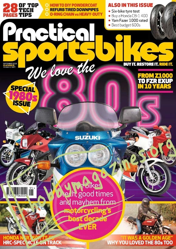 Practical Sportsbikes - September 2018