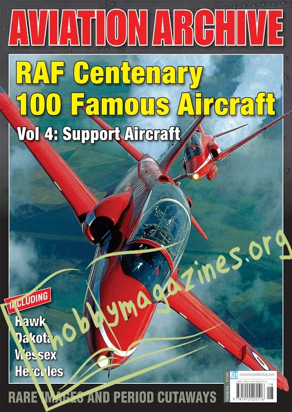 Aeroplane Collector's Archive - RAF Centenary 100 Famous Aircraft Vol 4: Support Aircraft