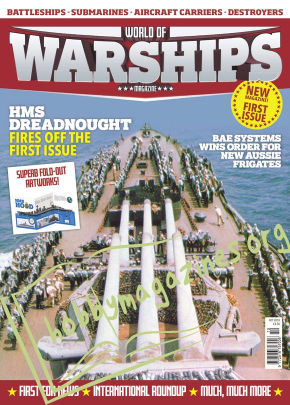 World of Warships Magazine First Issue - October 2018