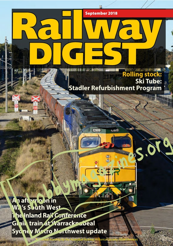 Railway Digest – September 2018