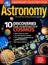 Astronomy - August 2018