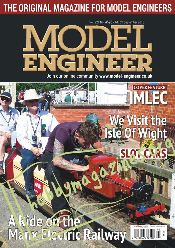Model Engineer 4595 – 14 September 2018