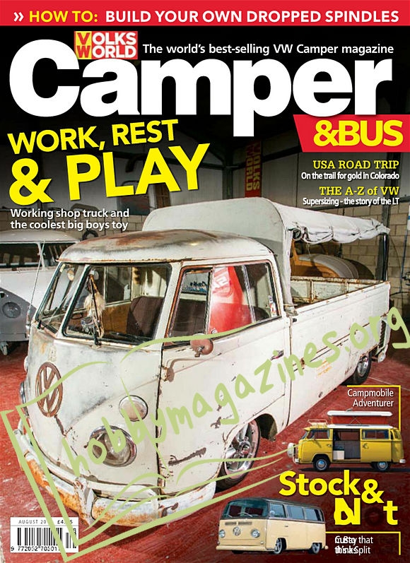 VW Camper & Bus - August 2018