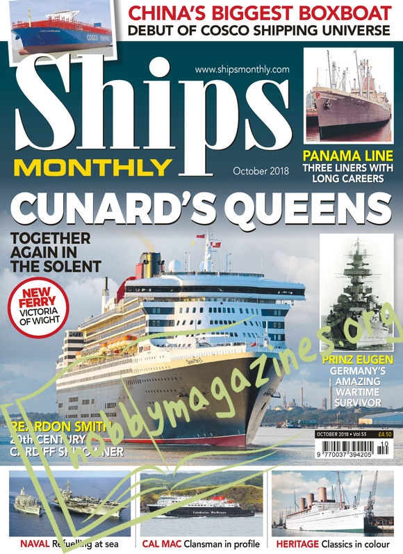 Ships Monthly - October 2018