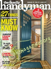 The Family Handyman - October/ November 2018