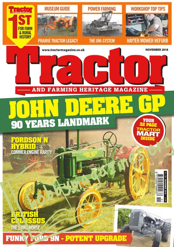 Tractor & Farming Heritage Magazine - November 2018