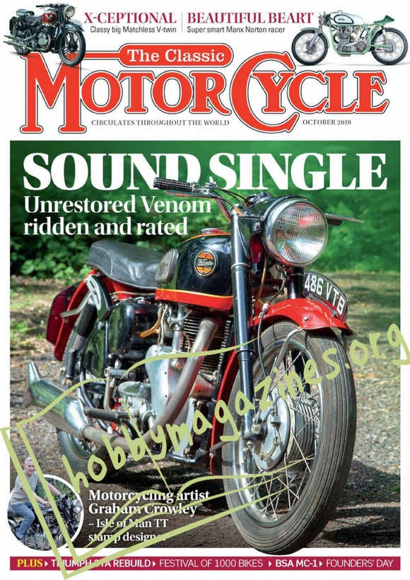 The Classic MotorCycle - October 2018