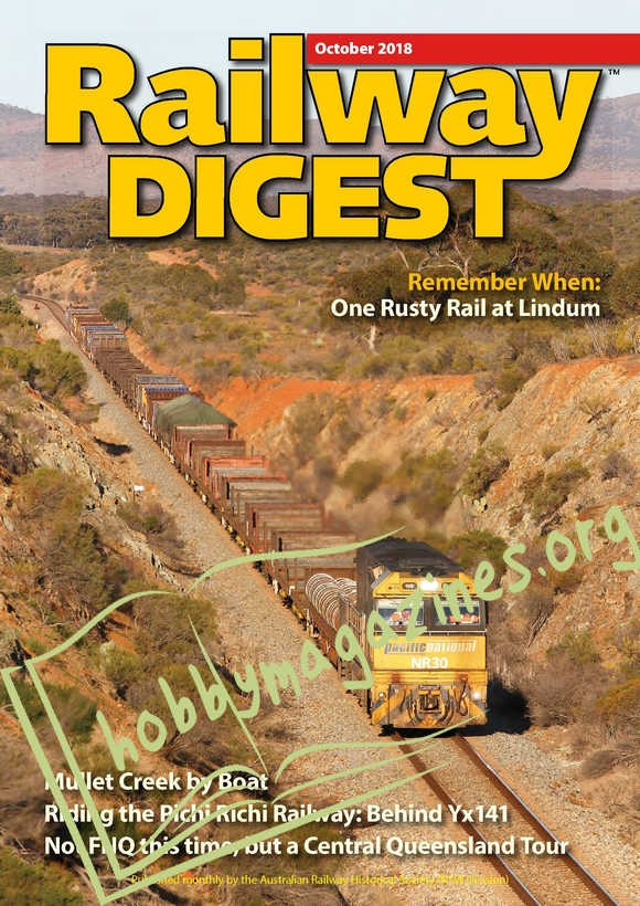 Railway Digest – October 2018